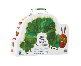 ABC Shop, The Very Hungry Caterpillar Two Sided Floor Puzzle, $24.99, Shop 48, Level 1, QVB.