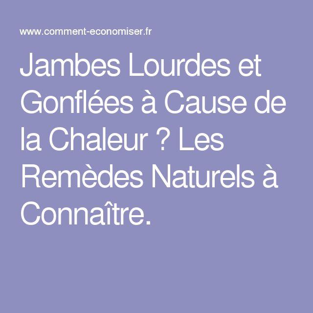 Jambes Lourdes et Gonflées à Cause de la Chaleur ? Les Remèdes Naturels à Connaître.
