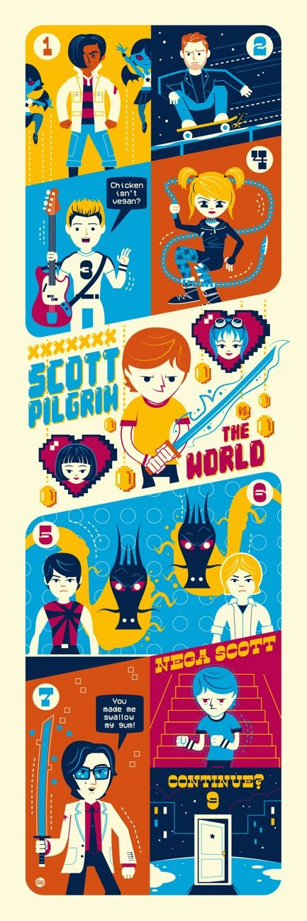 Scott Pilgrim Vs. The World by DAVE PERILLO /
