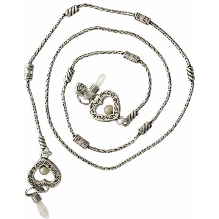 Sorority Row Eyeglass Chain, White