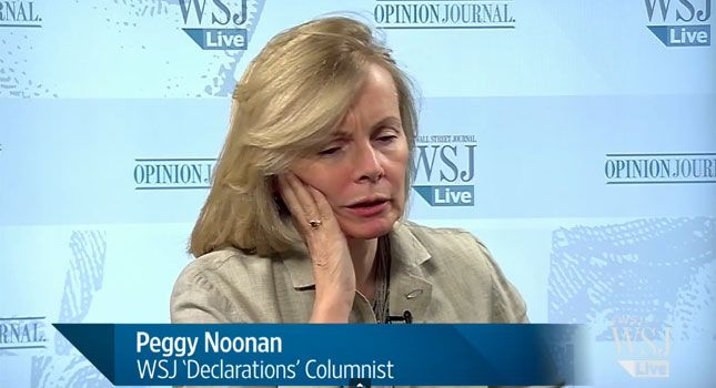 """The Hypocrisy Of Peggy Noonan's """"Modest"""" Attack On Hillary Clinton"""