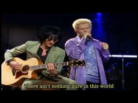 Billy Idol White Wedding Storytellers Ny 2001 Lyrics On Screen Hd You