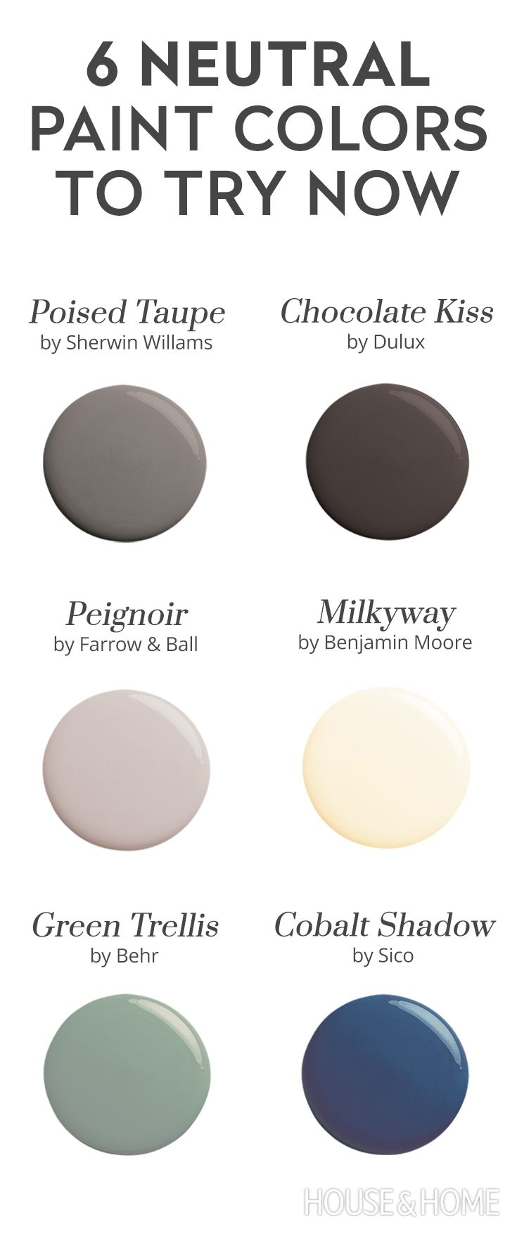 Discover 6 neutral paint colours to try instead of grey!