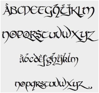 Pretty Calligraphy Fonts Cute Simple Cursive Tattoo Fonts – Rust Font