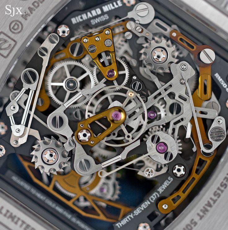 Richard Mille RM 50-02 ACJ Tourbillon Split Seconds Chronograph 15