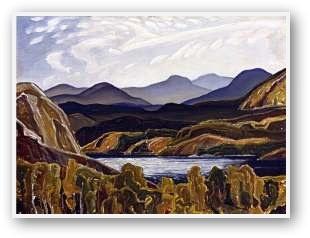 Franklin Carmichael  La Cloche Mountains And Lake