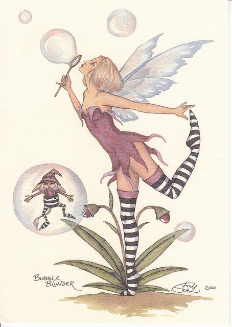 amy brown fairies | Amy Brown Bubble Blunder Fairy Postcard | Flickr - Photo Sharing!