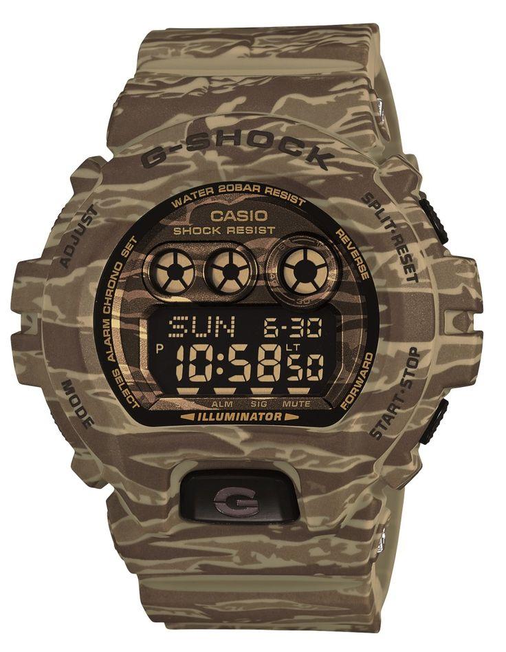 Casio G-Shock GDX6900CM Camo Watch