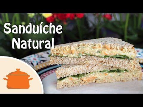Sanduíche Natural de Frango | Panelaterapia