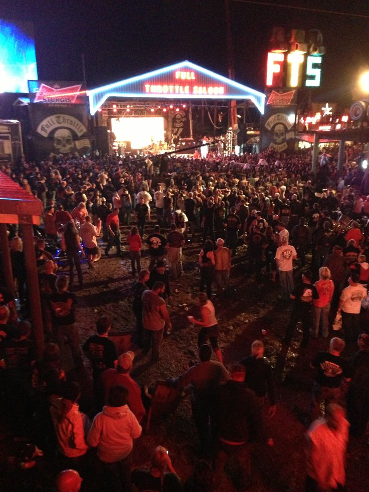 Sturgis Bike Week 2013 - Full Throttle Saloon - Jackyl Concert