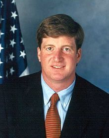 Patrick J.Kennedy suffers from bipolar disorder, and has struggled with alcoholism, asthma, and depression for a good portion of his life.