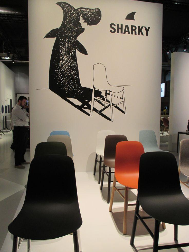 Sharky! chair by @Kristalia Interiors