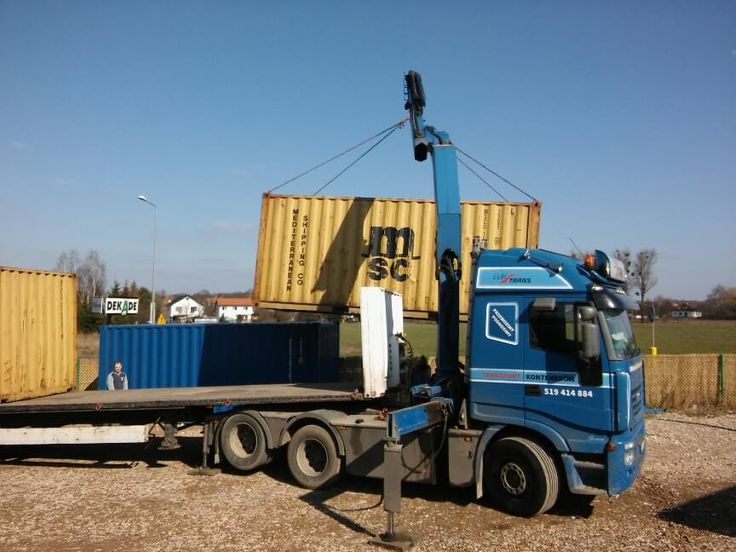 Shipping container loading