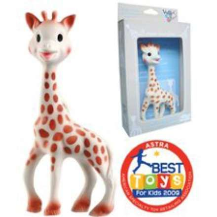 Ever baby needs a Sophie Giraffe tether
