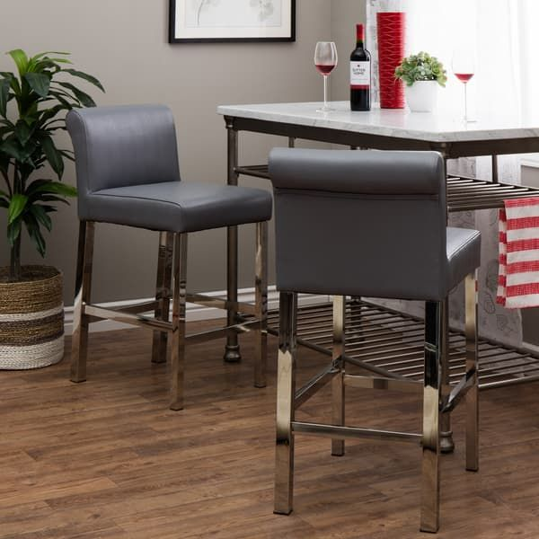 Best 25 Leather Counter Stools Ideas On Pinterest