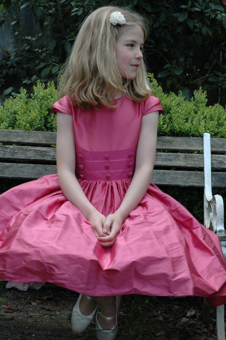 31 best Pink Flower Girl Dresses images on Pinterest | Bridesmaids ...