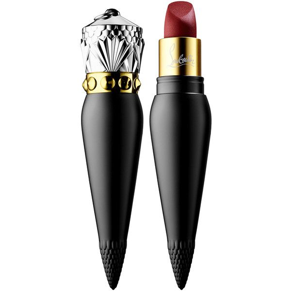 Christian Louboutin Velvet Matte Lip Colour ($90) ❤ liked on Polyvore featuring beauty products, makeup, lip makeup, lipstick, beauty, lips, cosmetics, lips lipstick, sheer lipstick and moisturizing lipstick