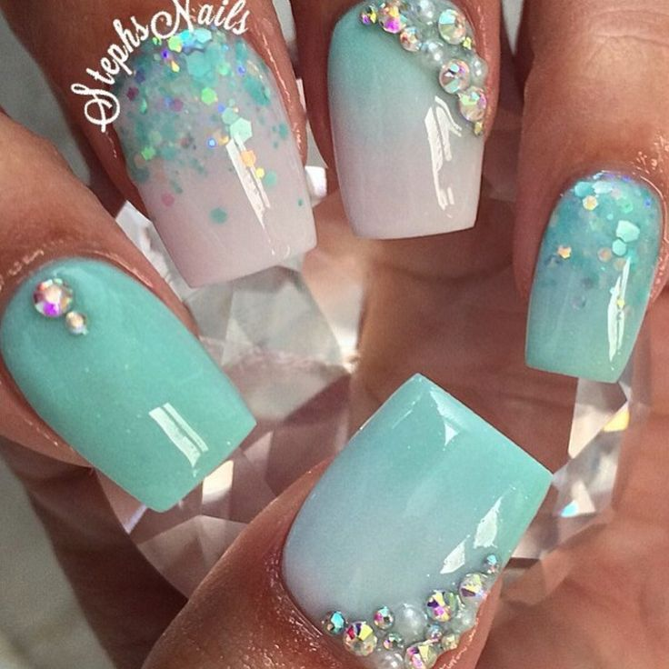 Turquoise nails - Best 25+ Turquoise Nail Art Ideas On Pinterest Turquoise Nail