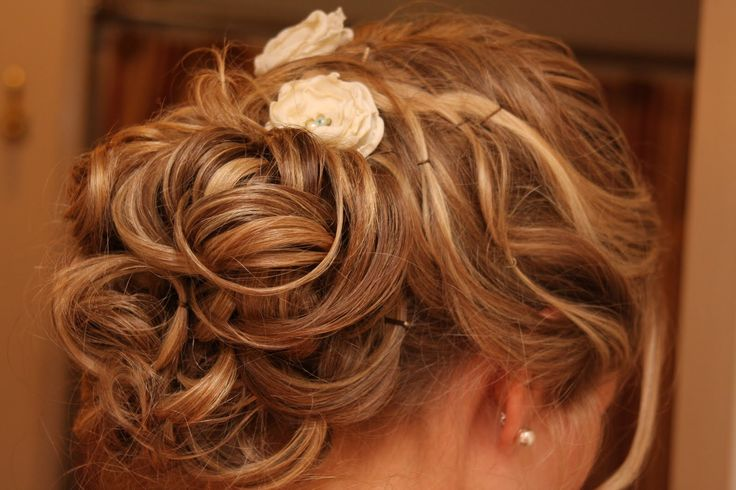 Wedding Hairstyles For Fine Hair: 17 Best Images About Half Updo Wedding Hairstyle For Thin