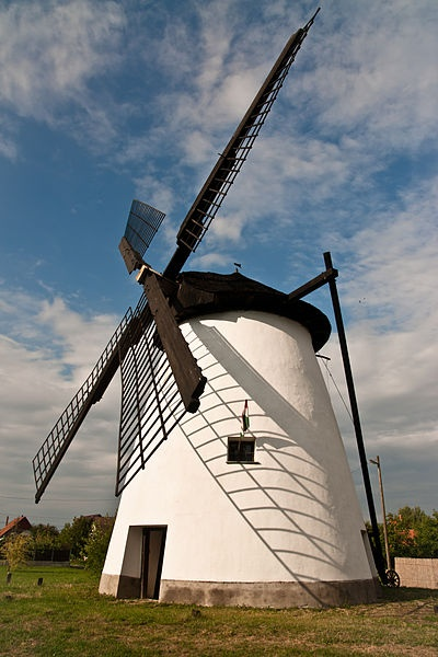 Windmill in Szeged, Hungary. I had the best pizza and crepes in this country. Awww memories