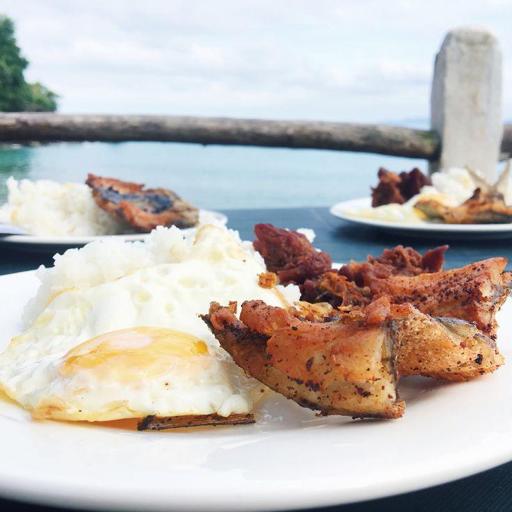 el canonero beach resort puerto galera oriental mindoro breakfast
