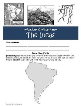 a research on the inca civilization The inca empire for over six decades though it is a short period in archaeological terms, sixty years was certainly long enough for the incas to consolidate their control.