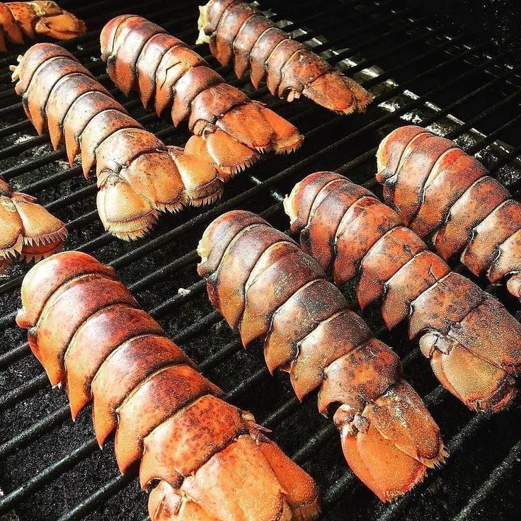 Who's up for grilled lobster tails this afternoon?.. . . Shout out to @DivaQBBQ. . . . #Barbecue #BBQ #BBQPorn #Seafood #Carne #Carnivore #Food #Foodgasm #Foodie #Foodies #FoodPhotography #FoodPics #FoodPorn #Foodstagram #ForkYeah #GlutenFree #Grill #Instafood #Meat #liveauthentic #eeeeeats #feedfeed #onthetable #f52grams #huffposttaste #buzzfeast #Lobster #Lobsters #LobsterSeason #Scampi