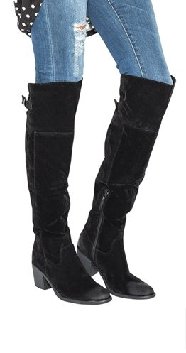 Sole Sister Over the Knee Boots
