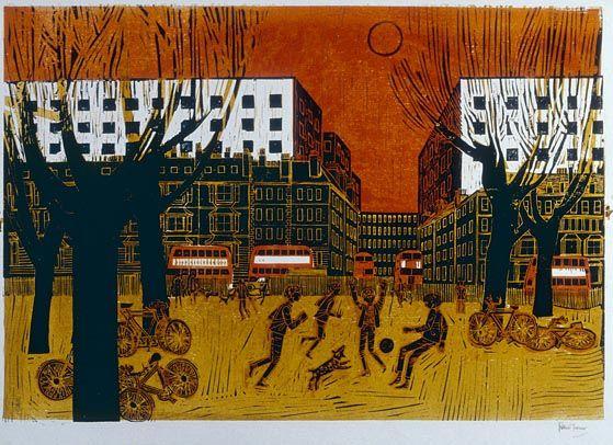 """London Park"" by Robert Tavener"