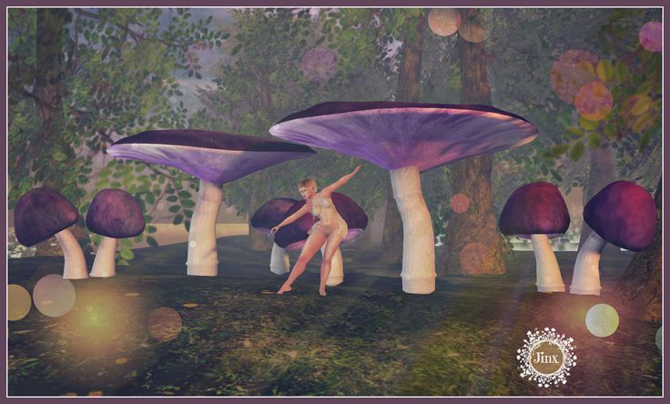 https://flic.kr/p/TJgoD8 | Jinx : Giant Fantasy Mushrooms - coming soon to The Fantasy Faire | Pic taken @ Sea of Beckoning