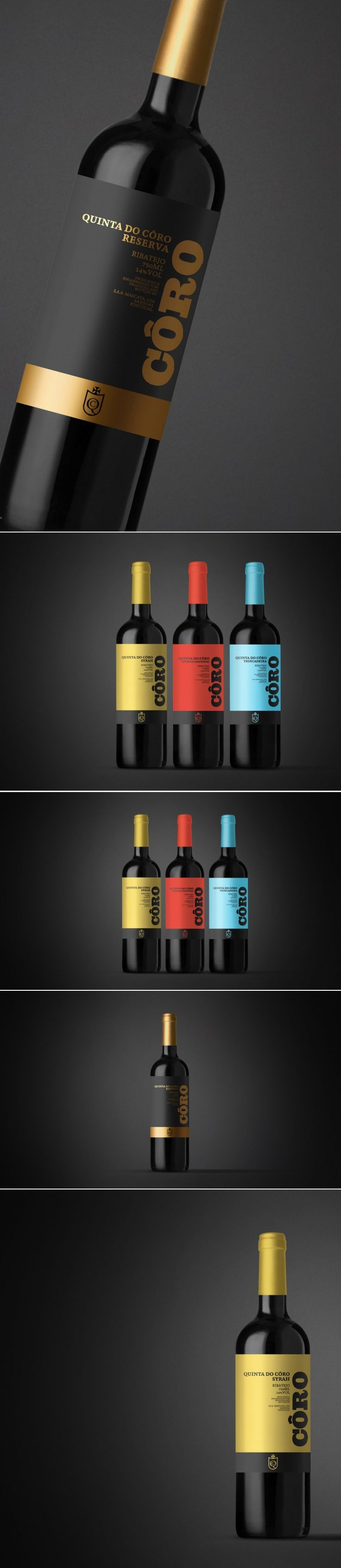 Concept: Quinta do Côro — The Dieline | Packaging & Branding Design & Innovation News