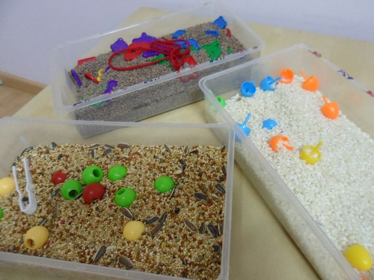 Cajas sensoriales #experimentar