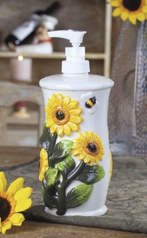 63 Best Sunflower Kitchen Images On Pinterest