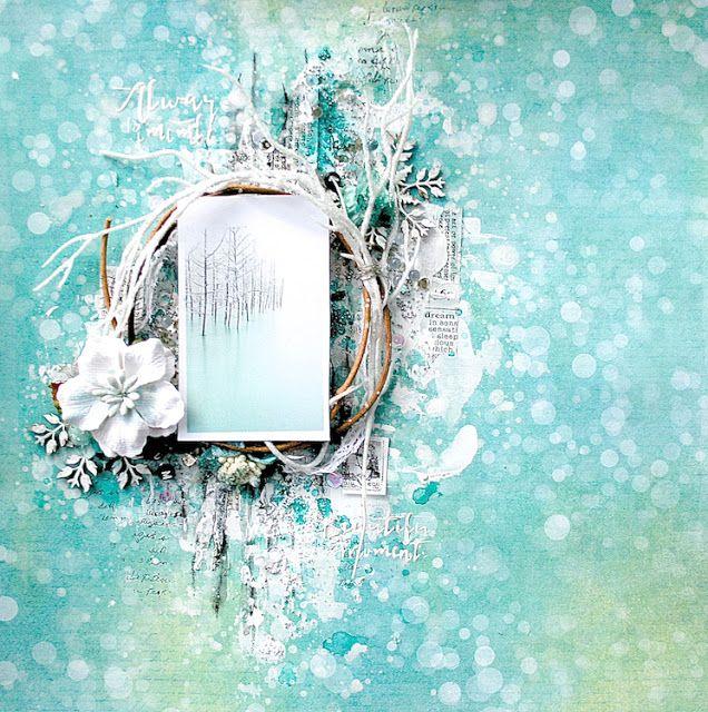 13arts: Challenge / Wyzwanie #48 - Frozen in Time / Mroźny Czas