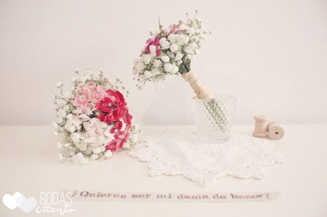 Kit para damas de honor. Bodas de Cuento The Wedding Designers