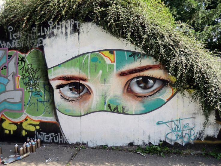 Street Art by Just Cobe in Runzmattenweg, Freiburg, Germany