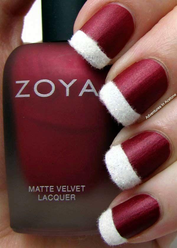 40 Inspirational Winter Nails Designs 2015