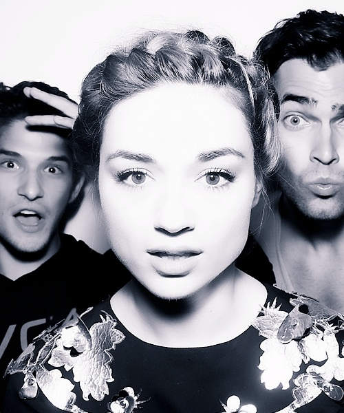 Crystal Reed (+ Tyler Posey and Tyler Hoechlin)