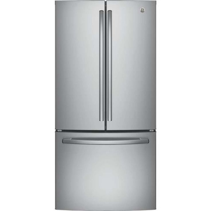 18.6 Cu. Ft. Stainless Steel Counter Depth French Door Refrigerator - Energy Star