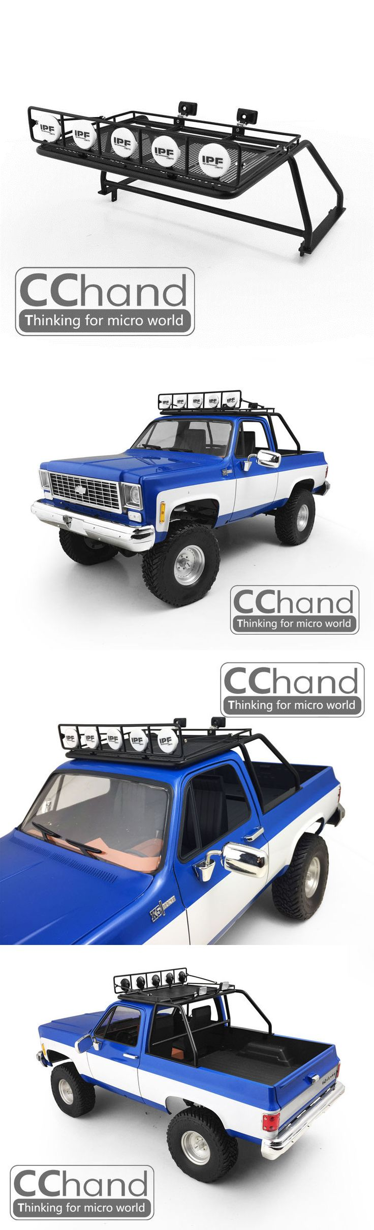 Empty Boxes 180311: 1 10 Chevrolet Blazer Roof Rack [Black] -> BUY IT NOW ONLY: $156.99 on eBay!