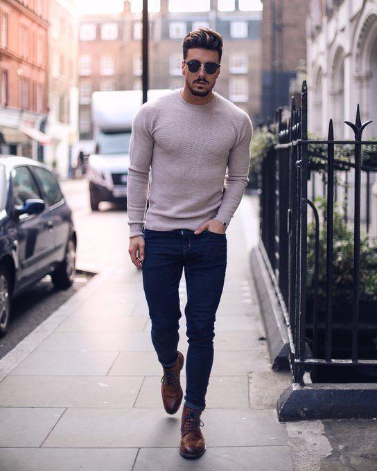 07b5316cee2 модные мужские образы 2019