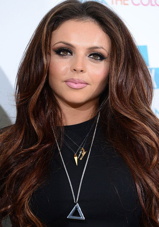 Jesy Nelson told us she wears more make-up now than ever [Getty]
