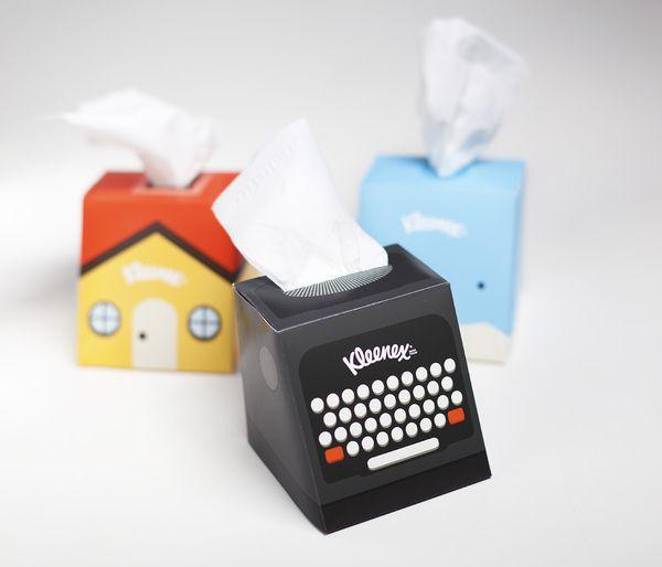 Kleenex packaging