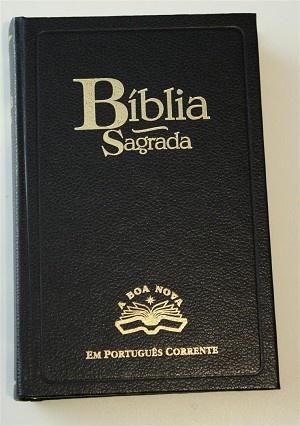 Portugese Bible / Biblia Sagrada A Boa Nova / S.B.P. / Em Portugues Corrente / TPC053 / Textos do Antigo Testamento, Novo Testamento e todo o material acessorio