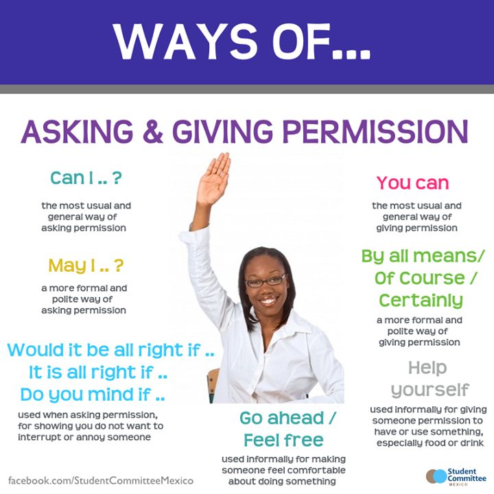 How to Ask Permission Politely in English – CAN, COULD ...