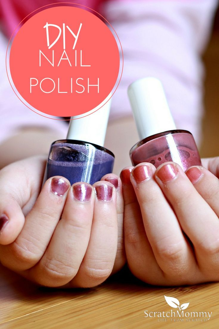 DIY Nail Polish is perfect for the kids or your own nails. Enjoying mixing it up together and giving each other manicures.