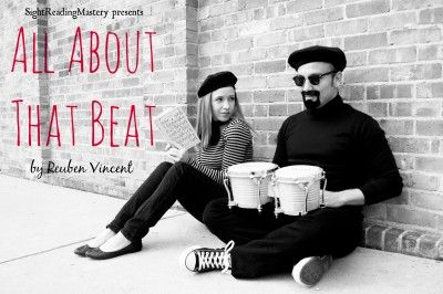♫ It's all about that beat, 'bout that beat... ♫ Reuben Vincent discusses the importance of the beat in sight reading on the SightReadingMastery blog: http://sightreadingmastery.com/blog/all-about-that-beat