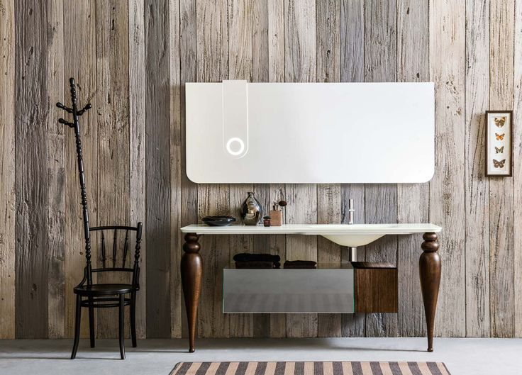 Artelinea's simple stylish bath vanity / I Borgia Collection