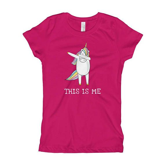 This Is Me With Dab Dance Unicorn T-shirt, Inspirational Gift, Unicorn Tee Shirt, Motivational Gift For Girls