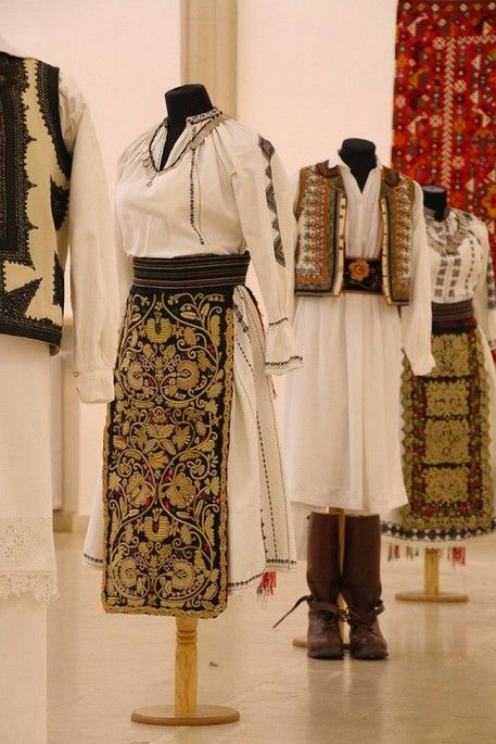 Marius Matei collection, Banat Traditional Romanian clothing